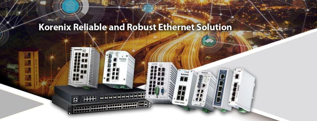 Korenix Industrial Ethernet Switch Solution
