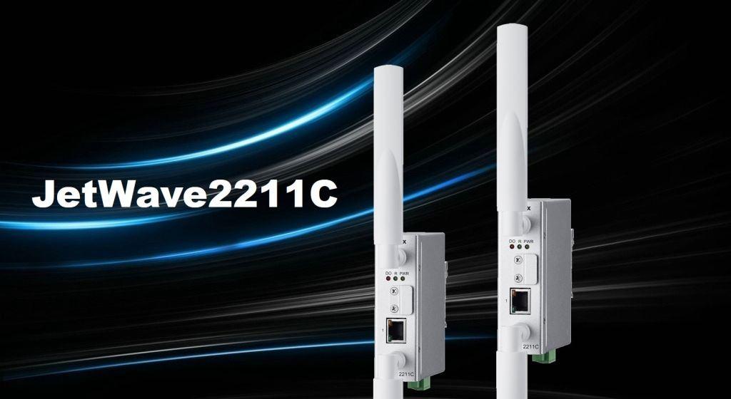 Korenix New Industrial Wireless Client JetWave 2211C