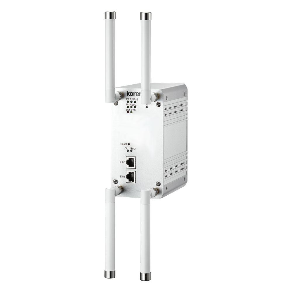 Korenix JetWave 3220 Industrial Dual 802.11ac 2.4G/5G 2T2R MIMO AP