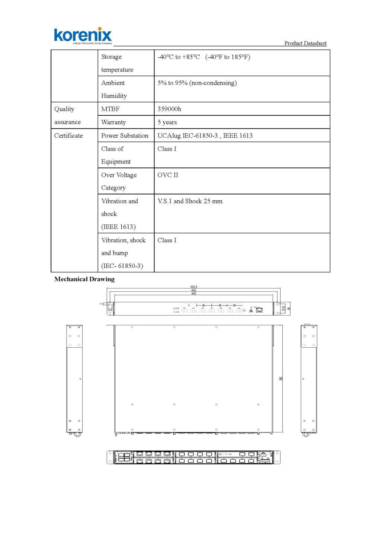 Korenix JetNet9828G 26 ports Layer 2 managed rack mountable modular switch