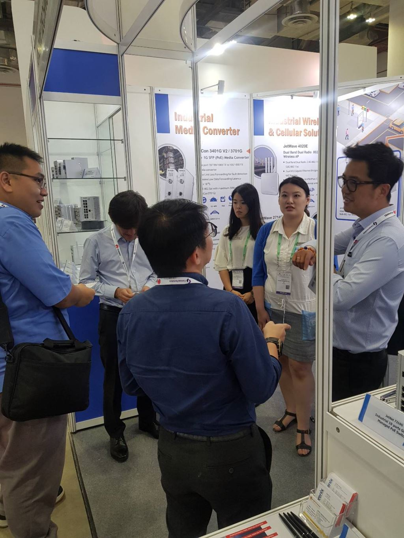 Korenix Technology at the CommunicAsia 2018