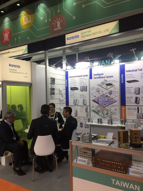 Korenix Technology, Intersec Dubai, Industrial PoE Switch, Industrial Media Converter, Idustrial Wireless Solution