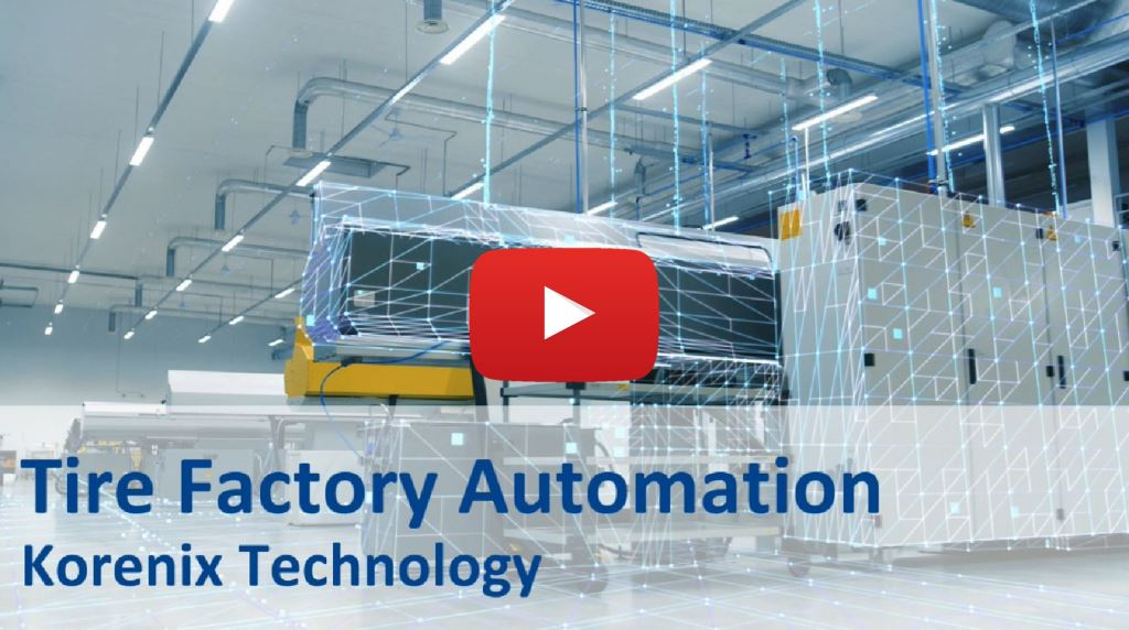 Korenix Complete Automation Solution for Tire Factory in China
